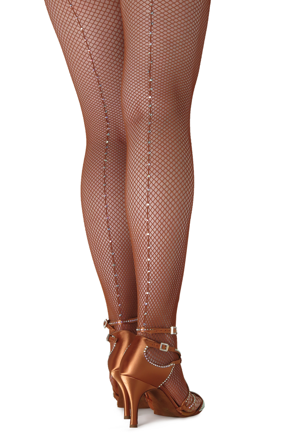 Crystallized Fishnet Tights - Swarovski Rhinestones on Capezio Tight